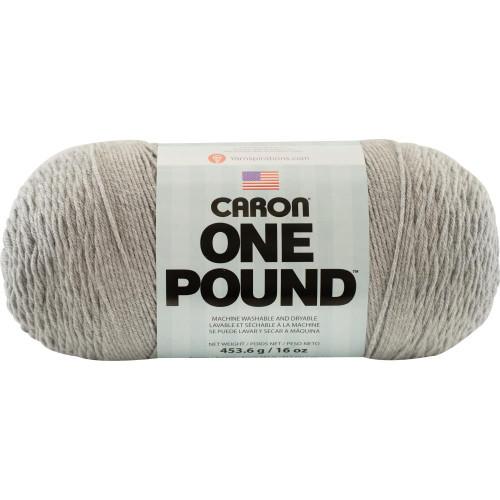 Soft Grey Caron One Pound Yarn