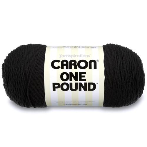 BLACK CARON ONE POUND YARN