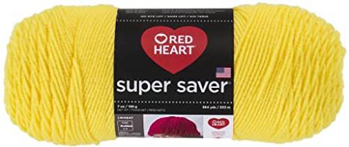 Bright Yellow Super Saver Yarn