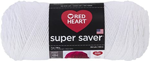 White Super Saver Yarn