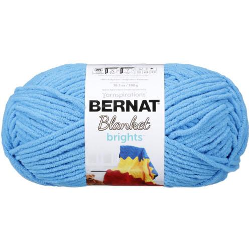 BUSY BLUE BLANKET BRIGHTS YARN