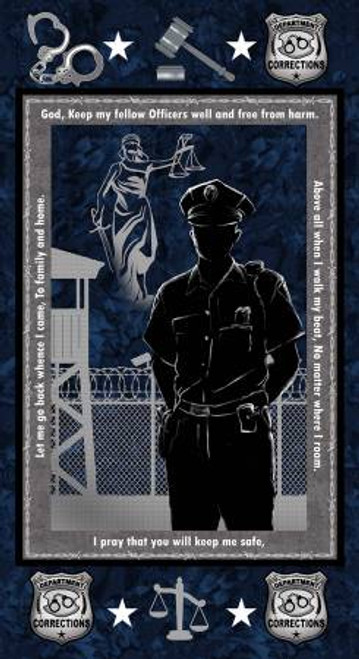 Corrections Officer Panel 24in x 44in