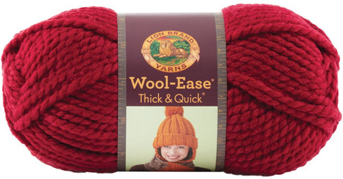 CRANBERRY THICK & QUICK YARN