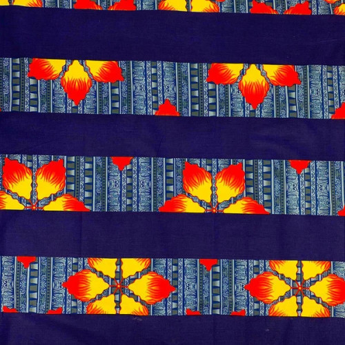 Red Yellow Blue Theme African Print