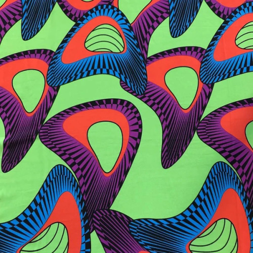 Senzo African Print DTY Brushed