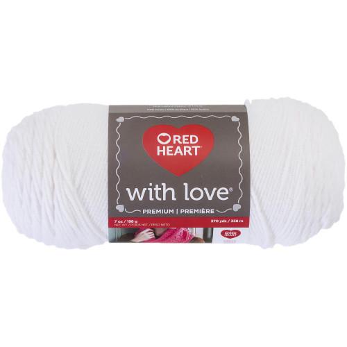 WHITE WITH LOVE YARN
