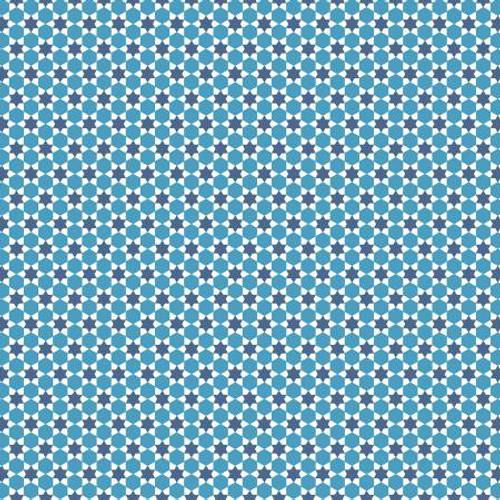 Flea Market Quilt Blue