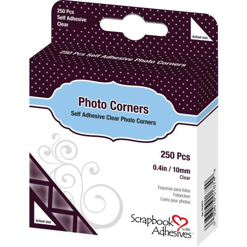 Clear Self-Adhesive Photo Corners