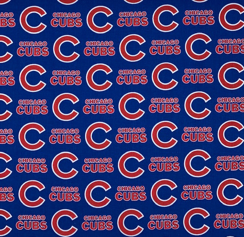 Chicago Cubs Cotton 60in