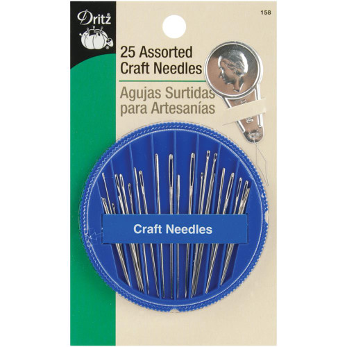 Assorted Craft Needles 25/Pkg