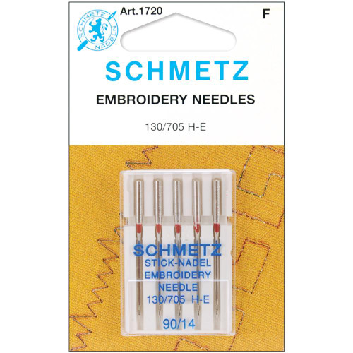 Schmetz Stick-Nadel Embroidery Needle 90/14
