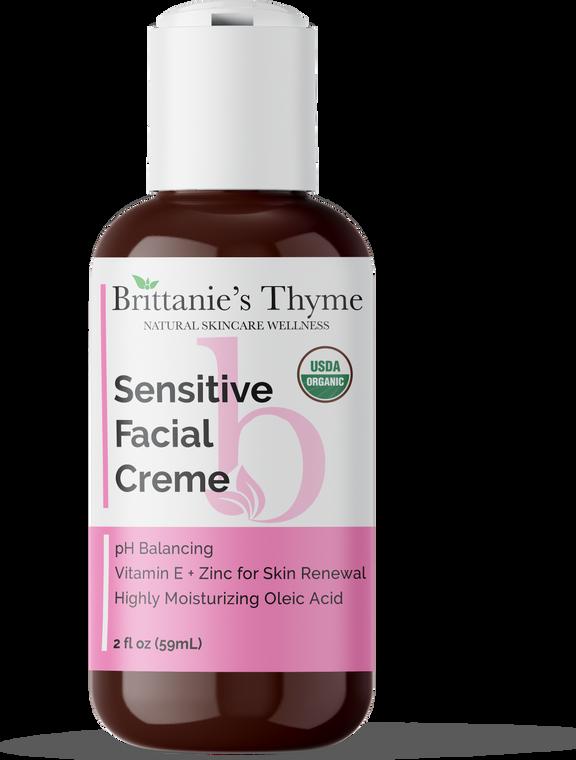 Organic Sensitive Facial Creme