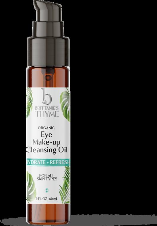 Organic Eye Makeup Cleansing Oil