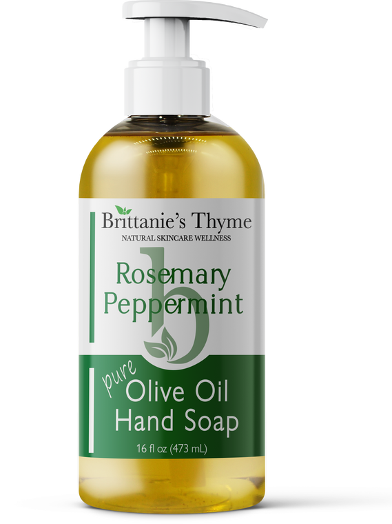 Rosemary Peppermint Olive Oil Hand Soap 16oz
