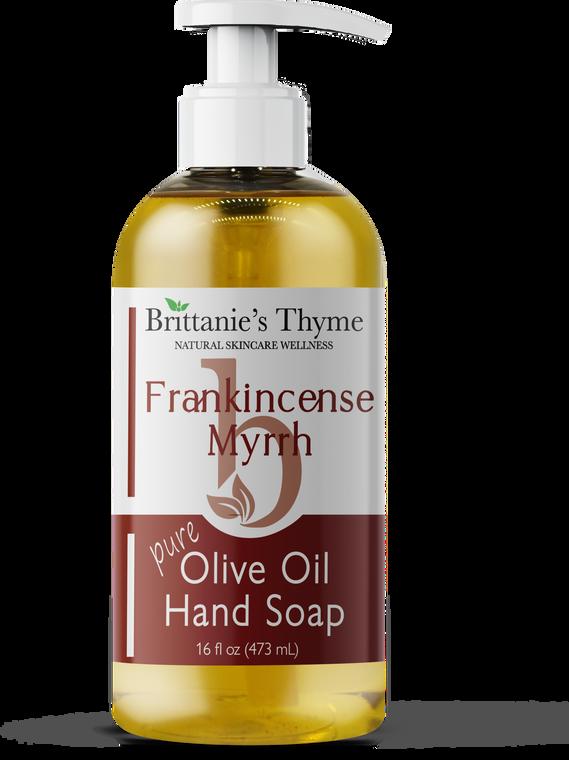 Frankincense & Myrrh Olive Oil Hand Soap 16oz