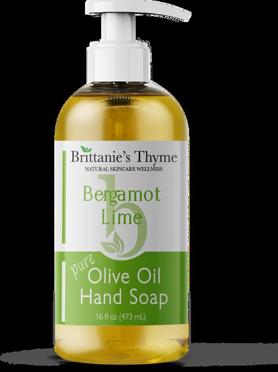 Bergamot Lime Olive Oil Hand Soap 16oz
