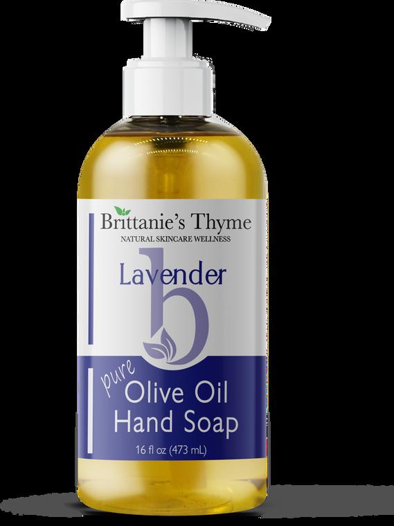 Lavender Olive Oil Hand Soap 16oz