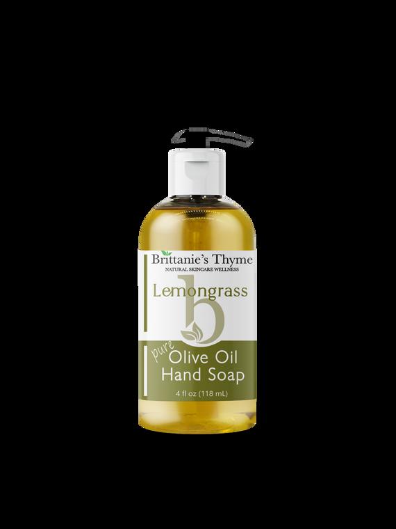 Lemongrass Olive Oil Hand Soap 4oz