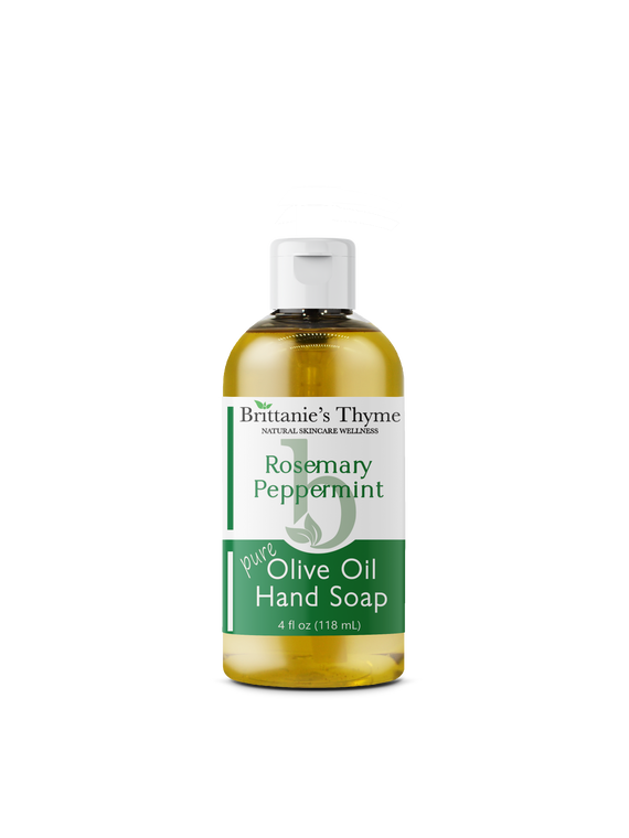 Rosemary Peppermint Olive Oil Hand Soap 4oz