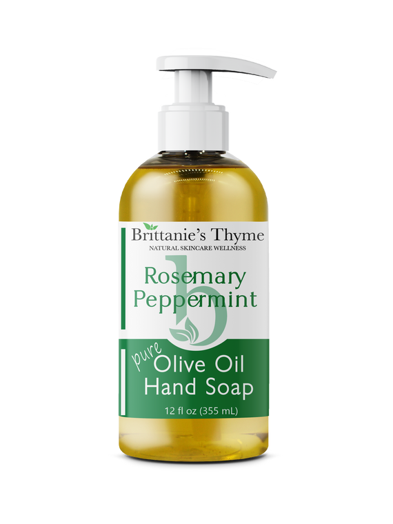 Rosemary Peppermint Olive Oil Hand Soap 12oz