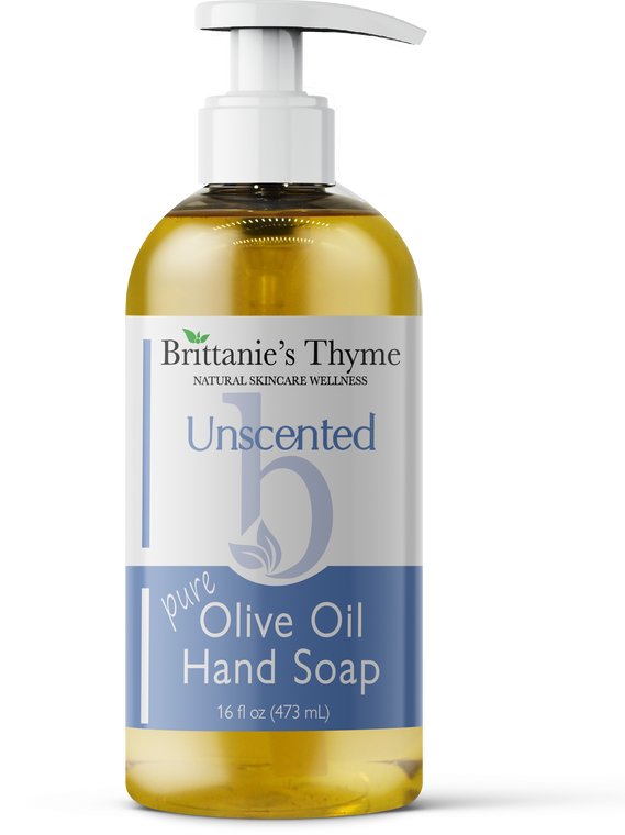 Unscented Olive Oil Hand Soap 16oz
