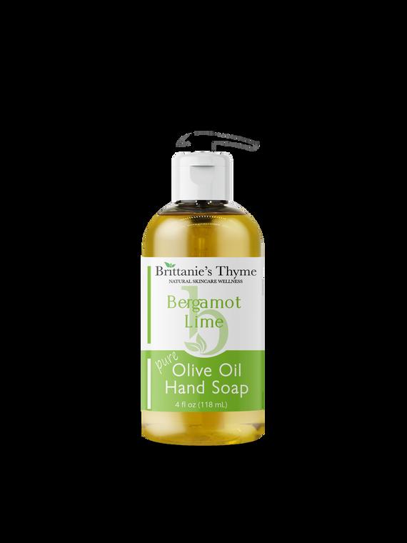 Bergamot Lime Olive Oil Hand Soap