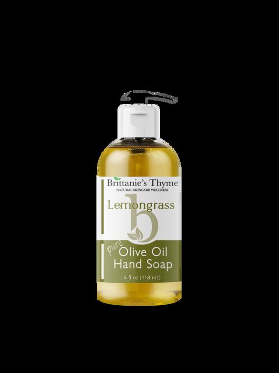 Lemongrass Olive Oil Hand Soap
