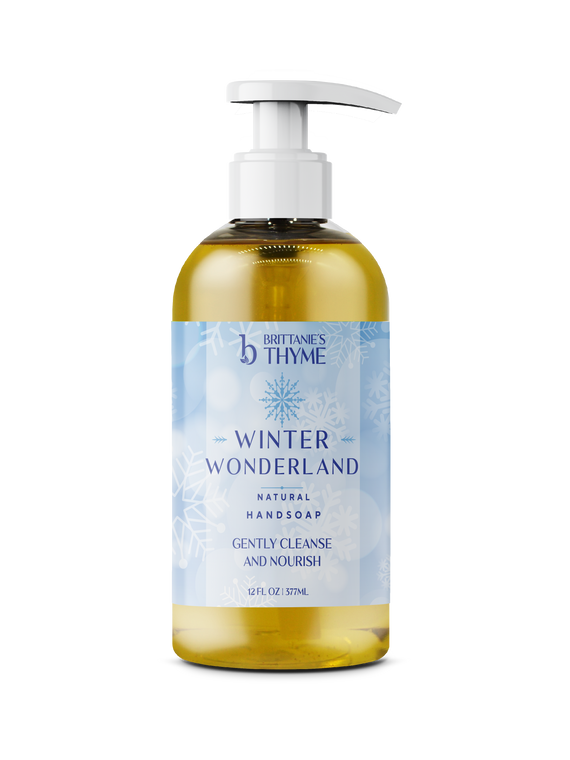 Winter Wonderland Olive Oil Hand Soap