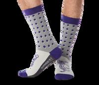 Cheetah Dot Socks