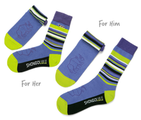 His & Her's Sock Set - Rhino Bars