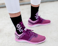 Cheetah Pattern Purple Women's Socks