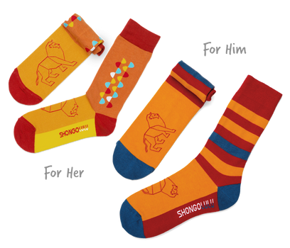 His & Her's Sock Set - Stripes