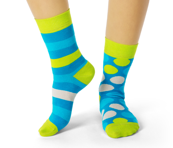 Spots and Stripes Socks