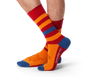 Lion Fat Stripes Socks