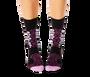 Cheetah Pattern Purple Women's Socks
