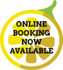 """12"""" Mirror/Window Cling – Online Booking – Single Sided"""