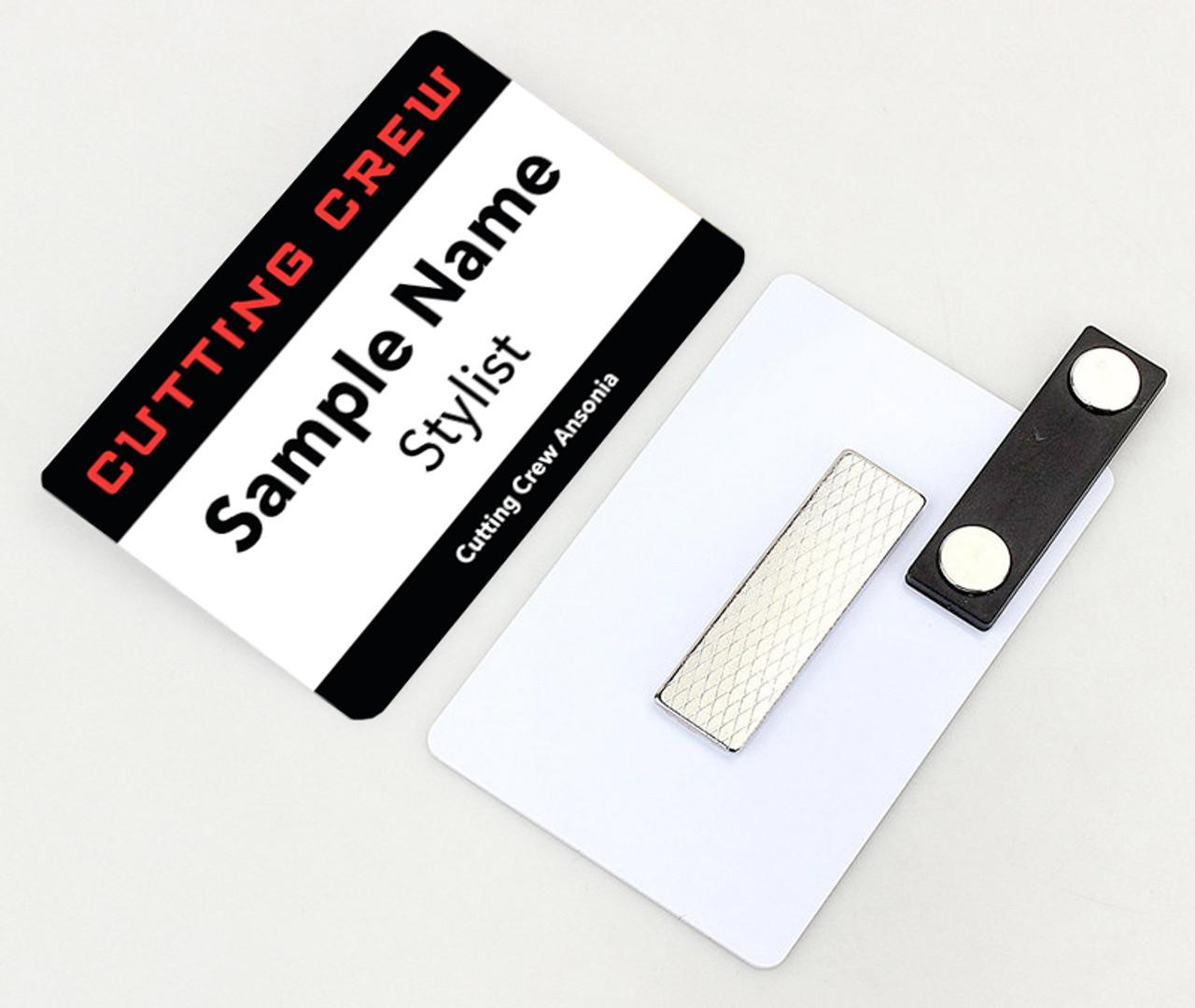 5 Name Tags – Cutting Crew
