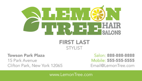 Be Our Guest Promotion Cards – Lemon Tree