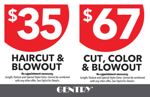"""8.5""""x5.5"""" Flyer – 2 Features – Gentry"""