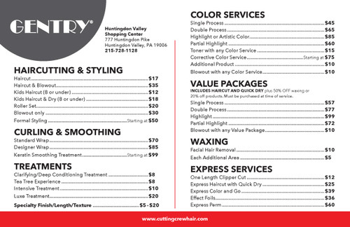 "8.5""x5.5"" Flyer – 2 Features – Gentry"