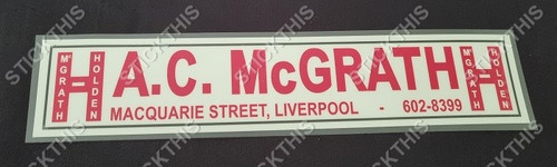 A.C. McGrath For Holden - Macquarie Street Liverpool NSW