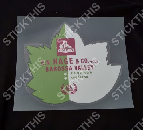 E H Hage and Co Green Leaf - Tanunda, Angaston SA