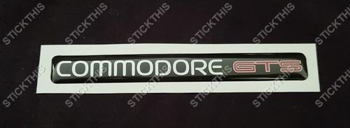 VN Commodore GTS Dash Badge (New Zealand Export)
