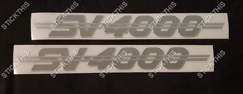 VN SV4000 Custom Decals