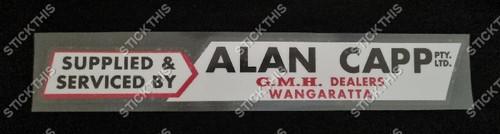 Alan Capp Wangaratta - VIC