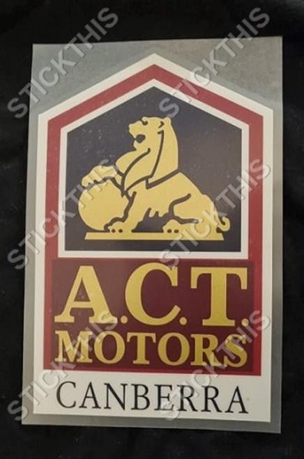 A.C.T. Motors Canberra - ACT