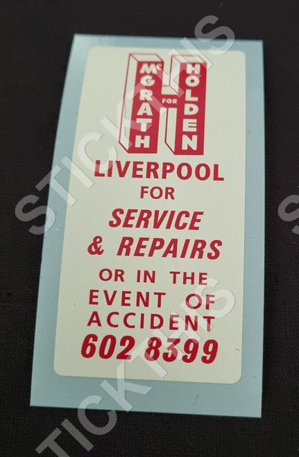 A.C. McGrath for Service and Repairs - Macquarie Street Liverpool NSW