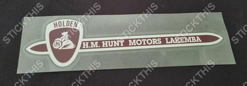 H.M. Hunt Motors Lakemba NSW