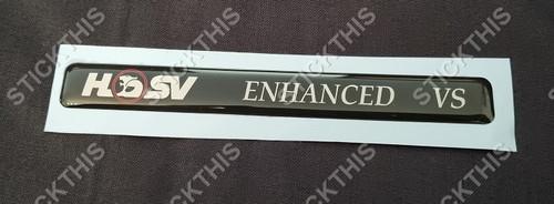 HSV ENHANCED VS Dash Badge