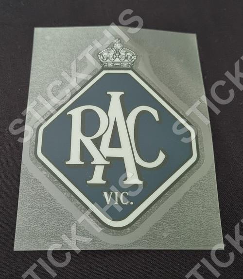RAC VIC Window Decal